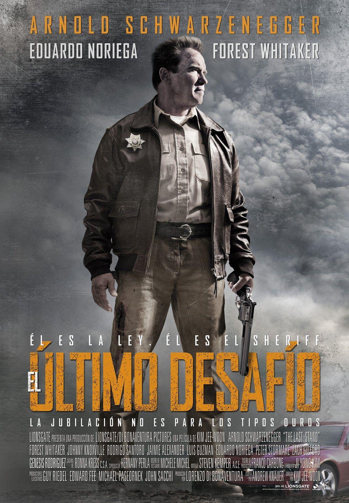 2013 El último Desafío Kim Jee Woon 11 10 14 Peliculas Poster De Peliculas Arnold Schwarzenegger