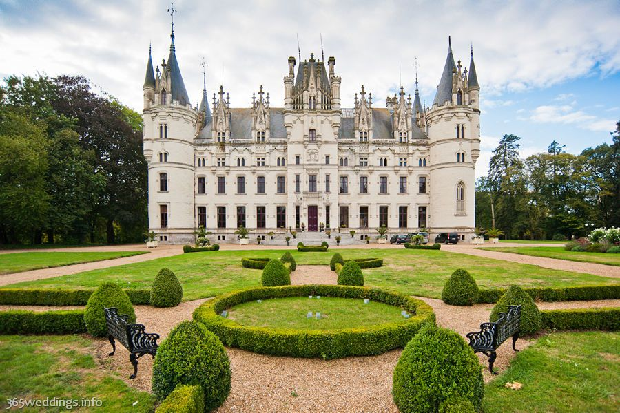 Cheap Wedding Insurance: Destination Wedding In Chateau Challain
