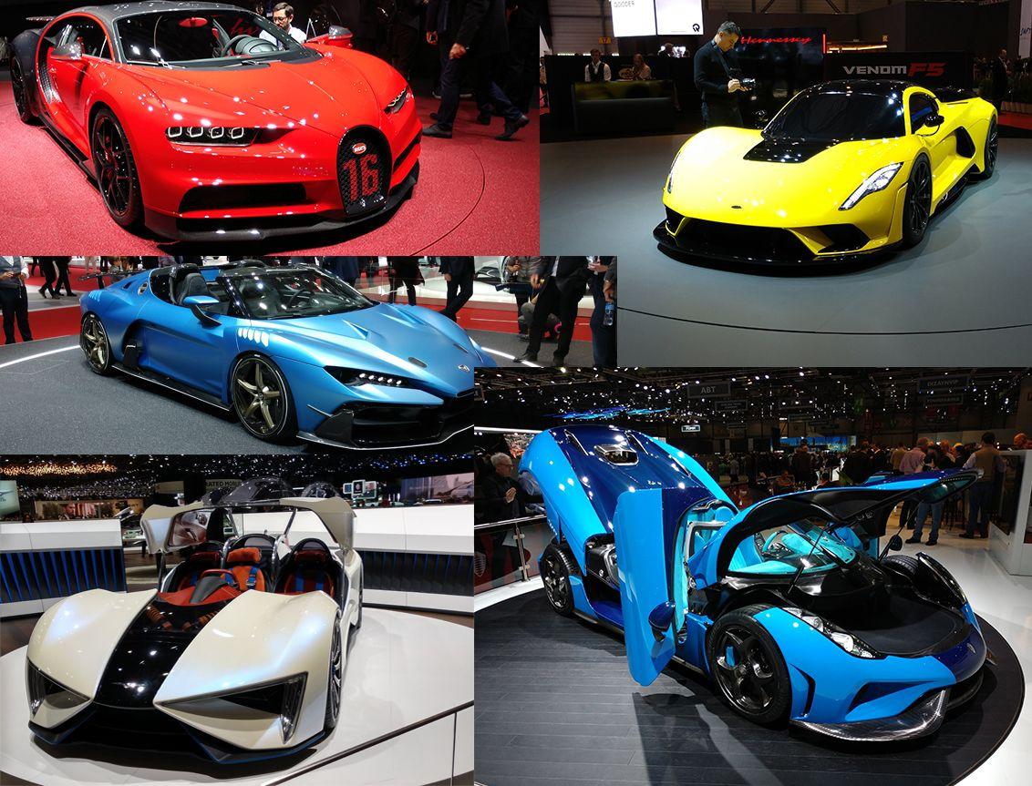 Самые крутые суперкары Женевского автосалона Суперкары