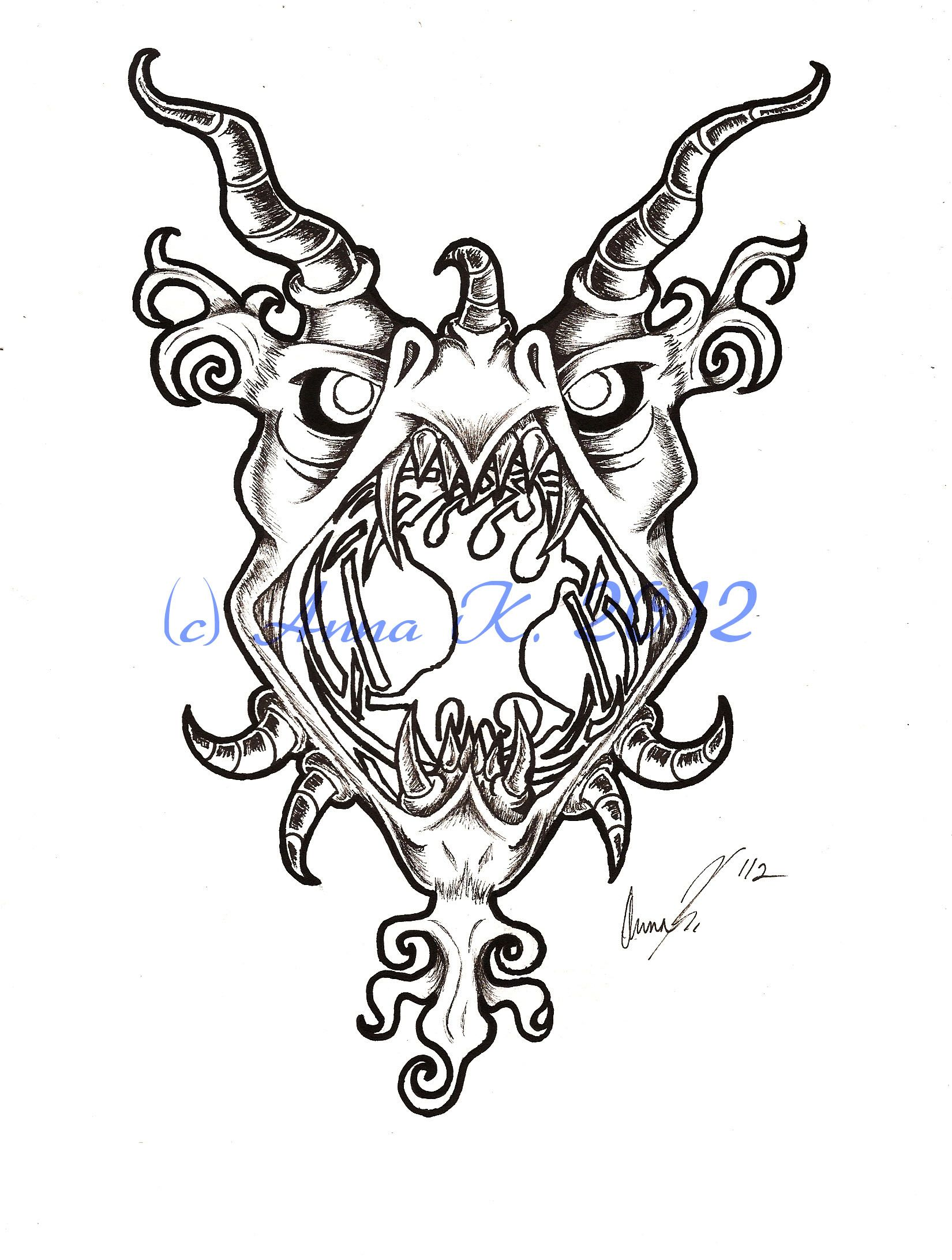 White apron ragnarok - Tattoo Design Of Nidhogg A Dragon From Norse Mythology Who Chews On The Roots Of