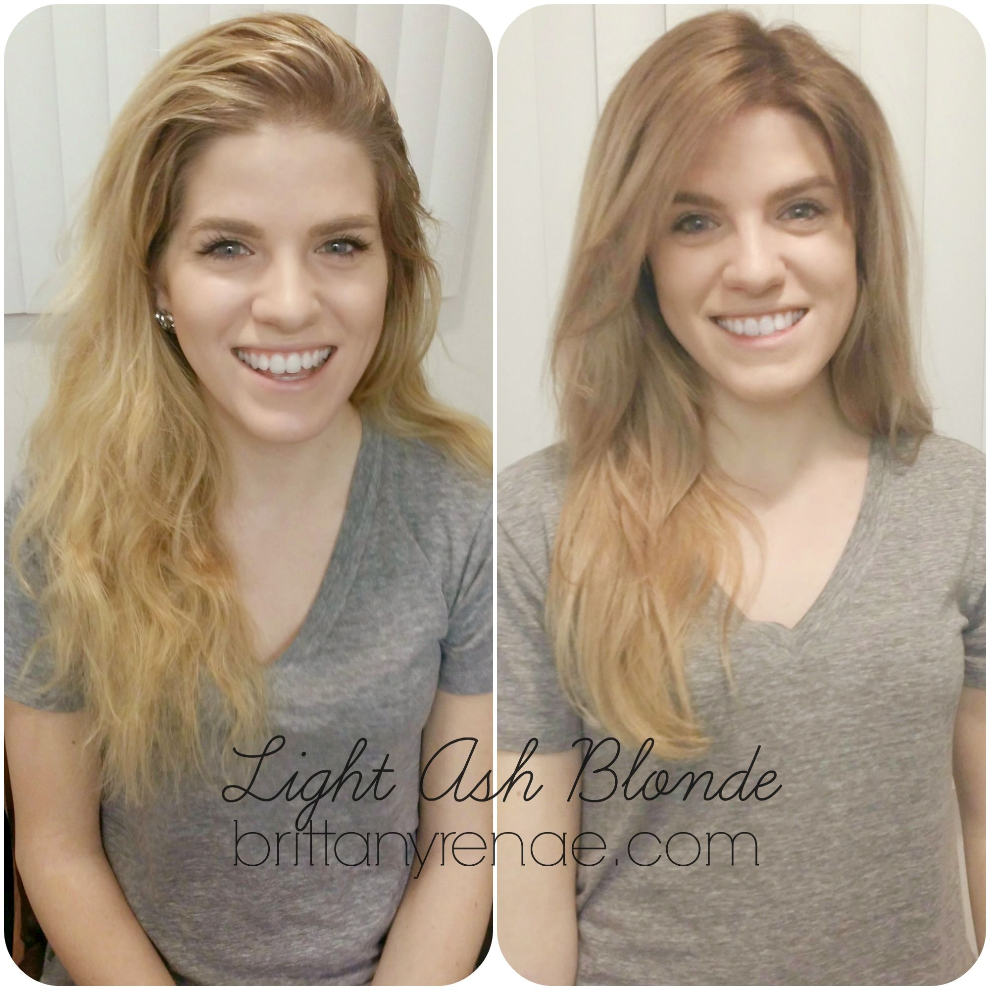 Light Ash Melt How To Get Rid Of Brassy Blonde Highlights And Get