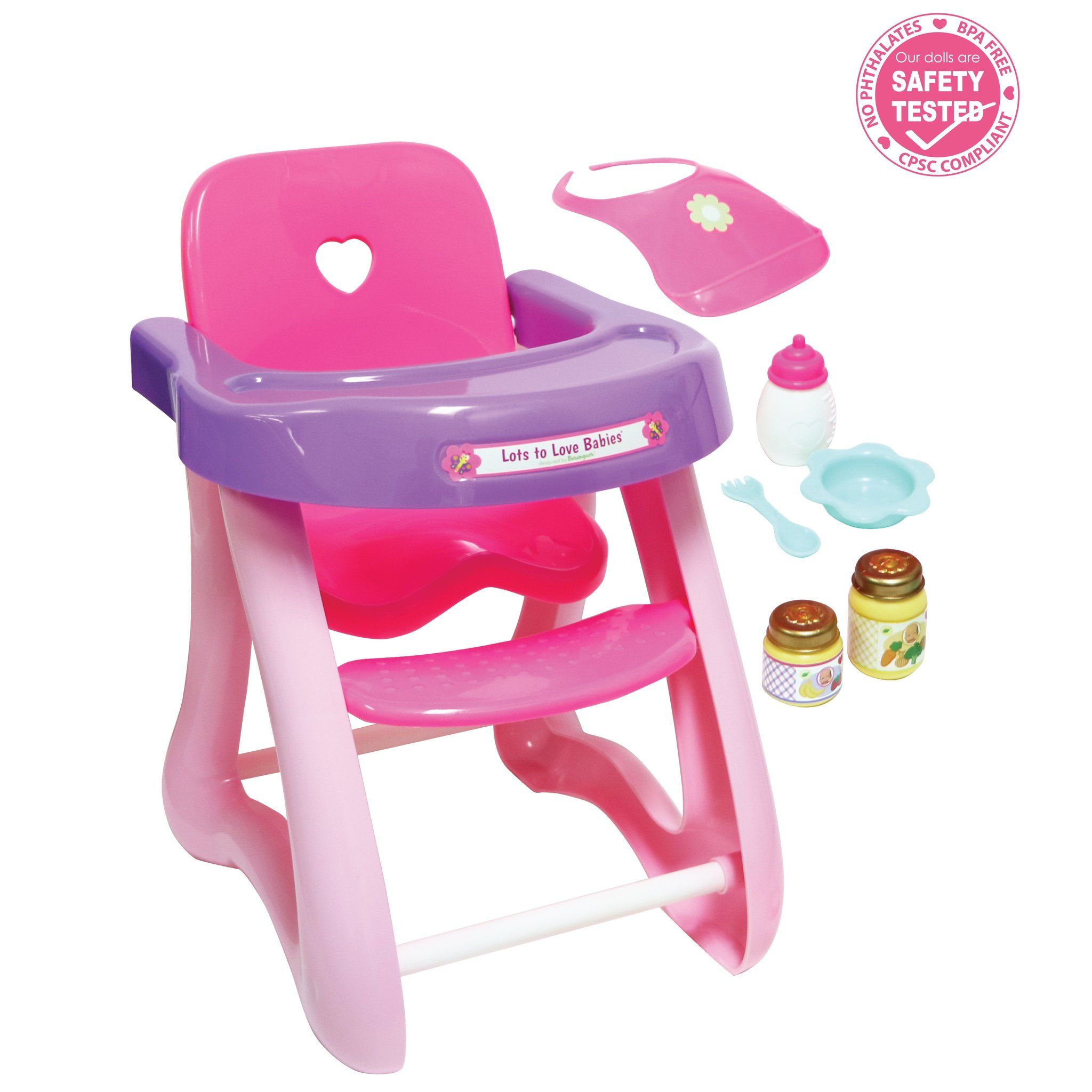 For Keeps Highchair Accessory Gift Set Fits Dolls Up To 16 Dolls Ages 2 In 2020 Little Girl Toys Baby Doll Nursery Baby Alive Dolls