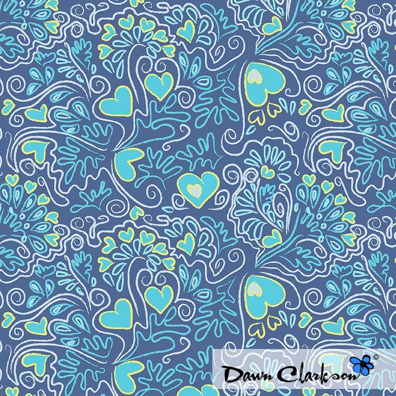 Blue Love, by Dawn Clarkson http://niceandfancy.blogspot.it