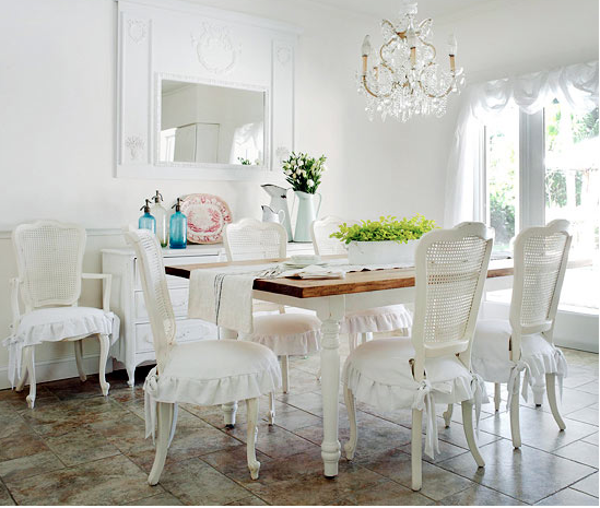 en mode shabby chic patricia morin salon living shabby salle a manger. Black Bedroom Furniture Sets. Home Design Ideas