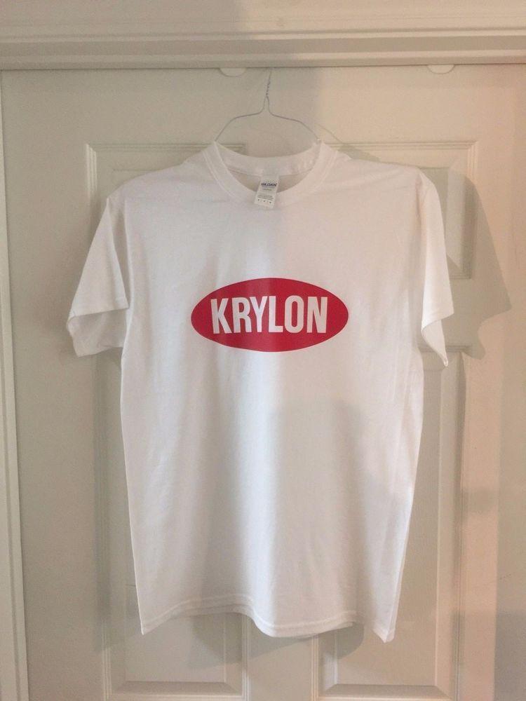 5be45555 KRYLON Spray Paint Logo Men's White T-Shirt #Gildan #GraphicTee | T ...