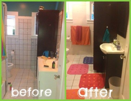 500 bathroom makeover in 3 days