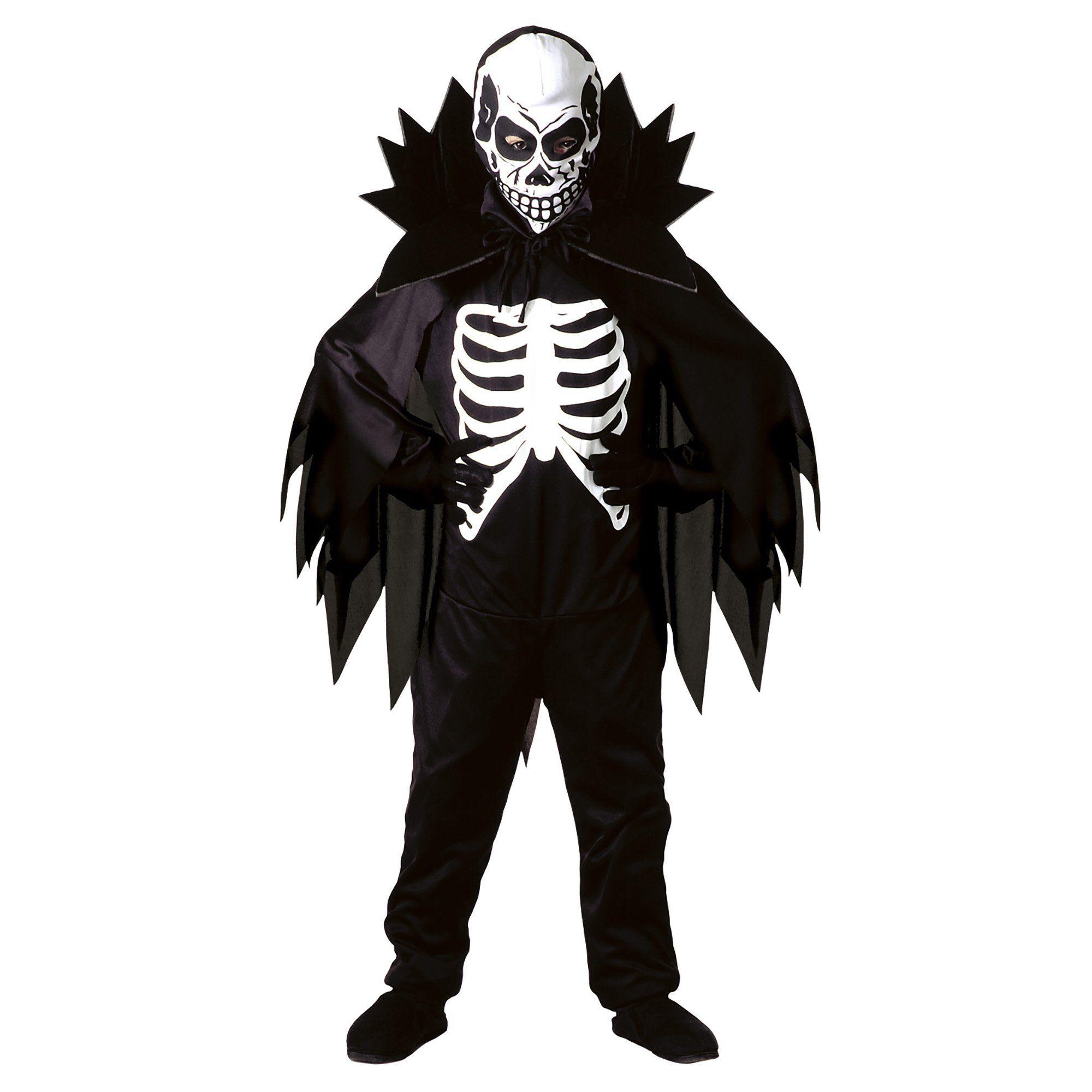 Scary Skeleton Kids Halloween Costume 57 years (disfraz