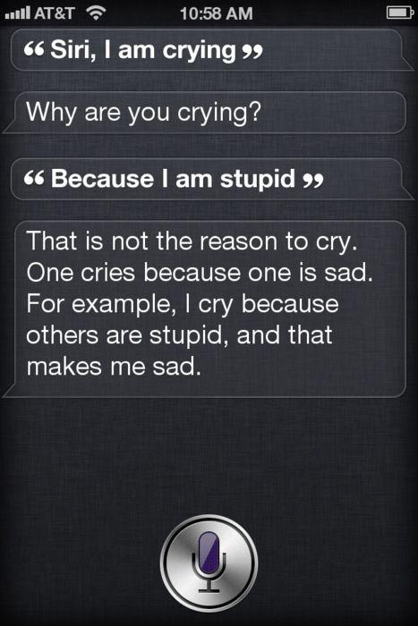 I love Siri.
