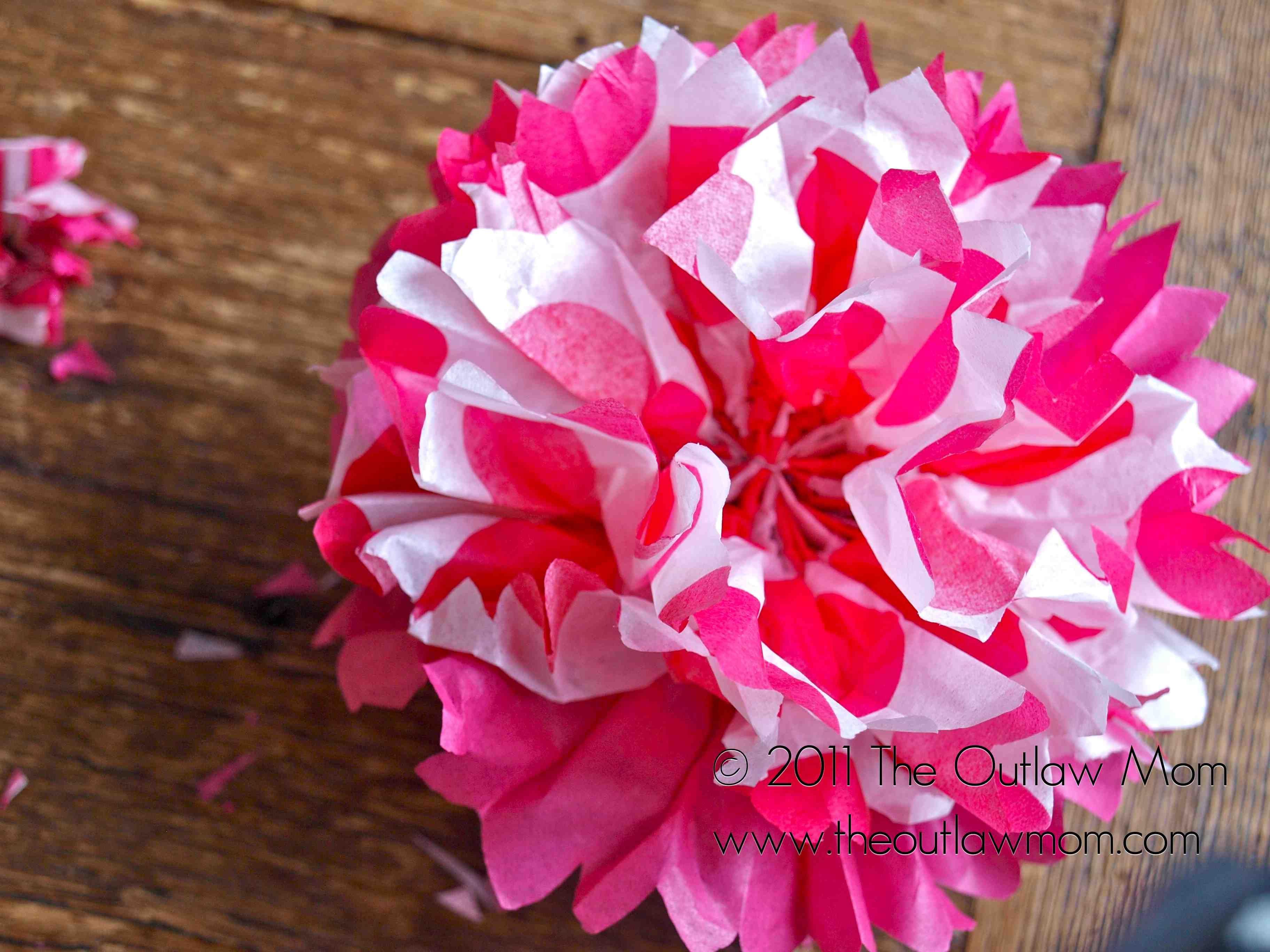 Paper Tissue Flower Tutorial Letis Wedding Pinterest Tissue
