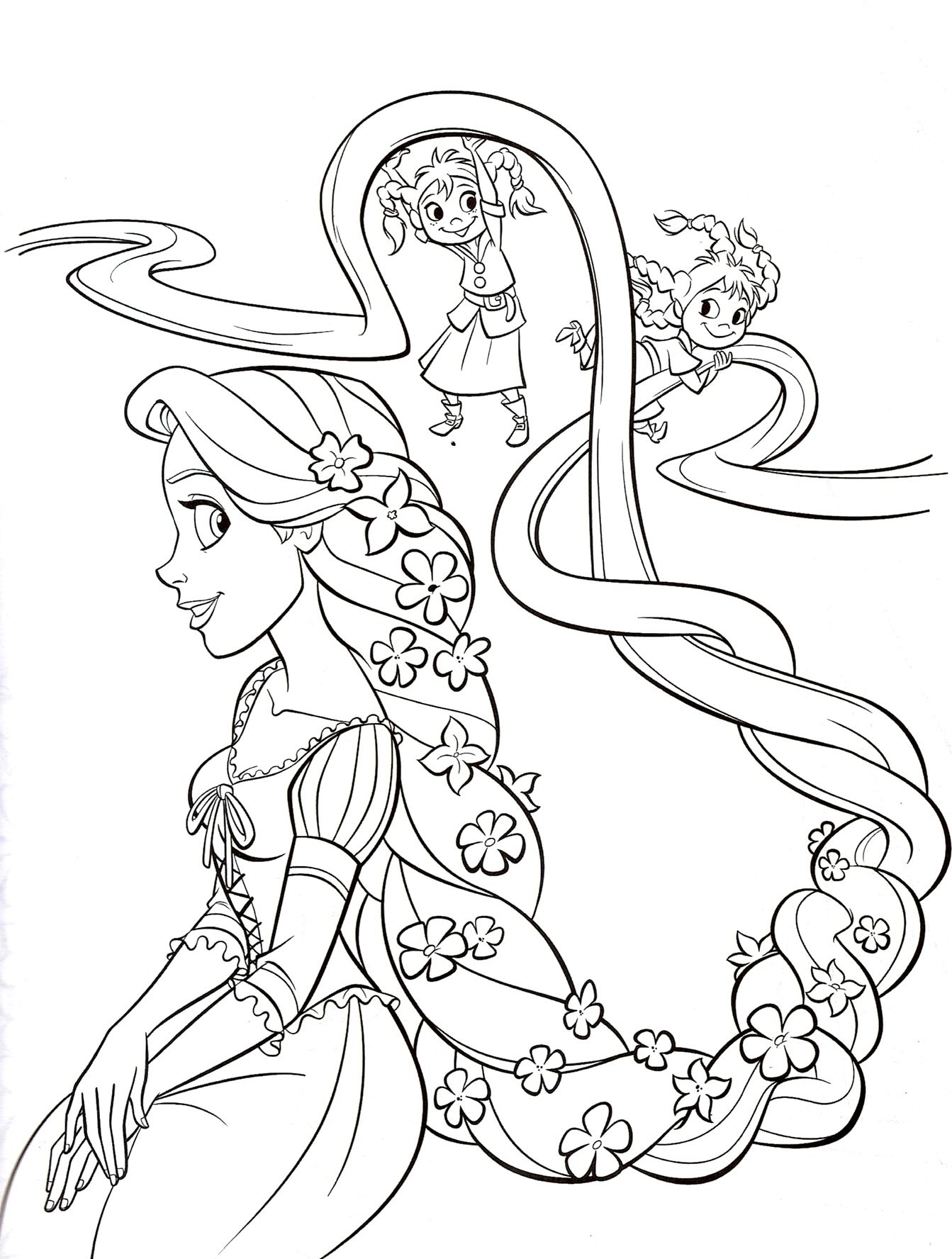tangled rapunzel printable coloring pagesjpg 13431776 - Rapunzel Coloring Pages To Print
