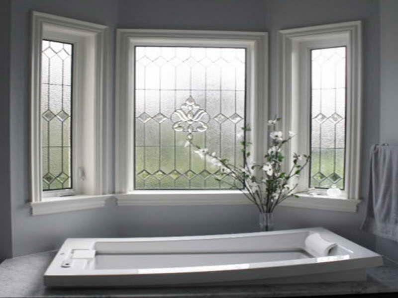 Privacy Decorative Frosted Glass Window Film Bathroom Window Film