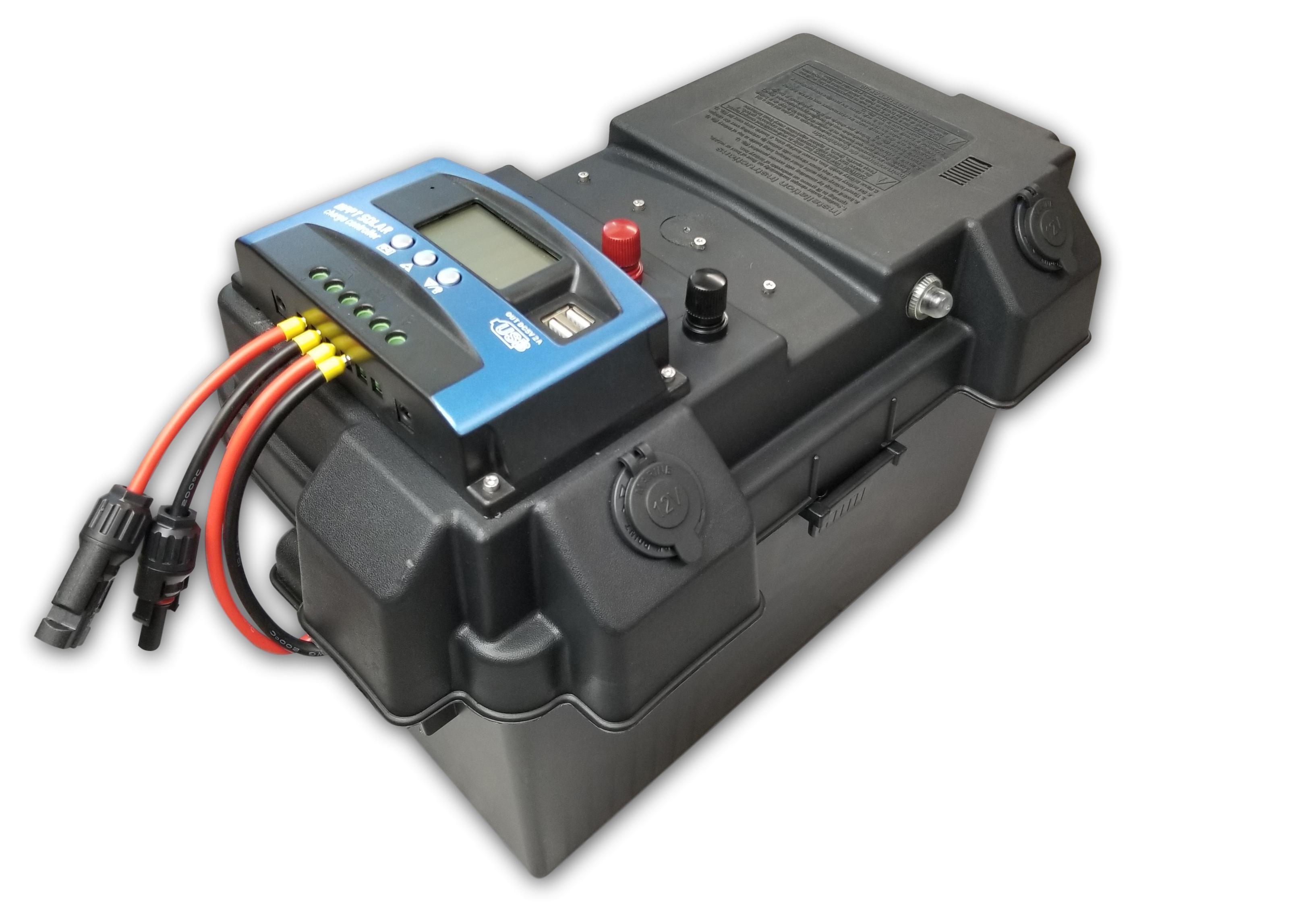 1200w 2400w Mppt Solar Generator Portable Solar Battery Box 12v Or 24v 100a Input Usb In 2020 Solar Battery Solar Generator Solar Panel Battery