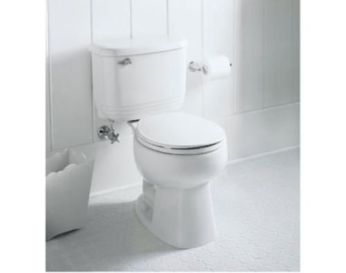 Sterling Riverton 12 Rough In Round Front Toilet With 1 28 Gpf At Menards Toilet Toilet Bowl Riverton