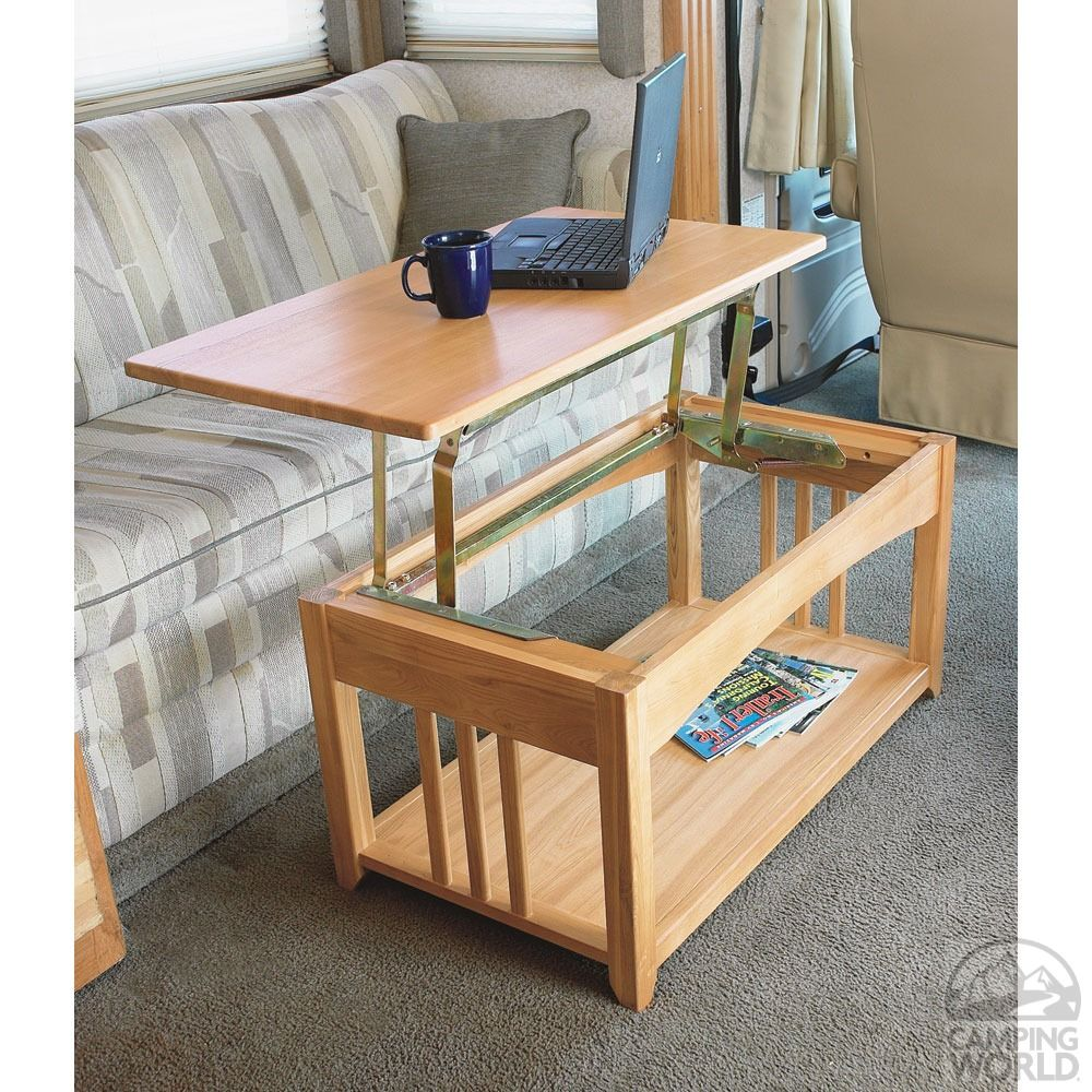 Wooden You Like This Lovely Dual Purpose Coffee Table Laptop Platform Converts Within