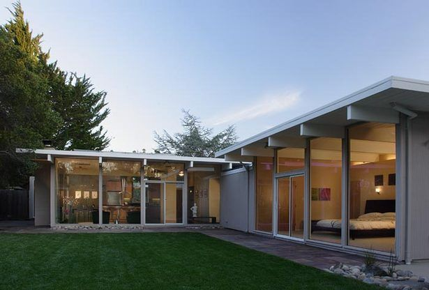 H Plan Eichler Extension Klopf Architecture Archinect Architecture House L Shaped House Small House Design