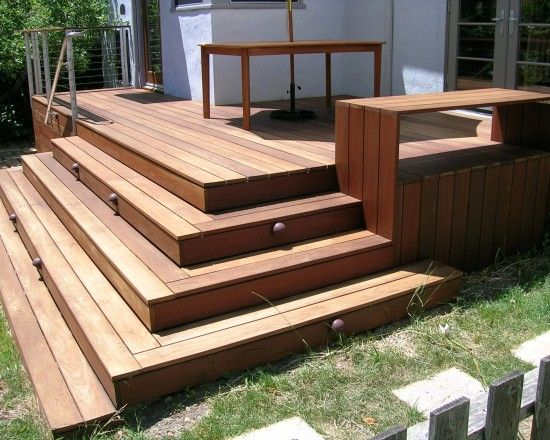 Back Porch Stairs To Wrap Around