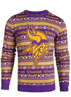 f7051a27 Vikings Ugly Sweater | Sweaters | Men sweater, Sweaters, Shirts