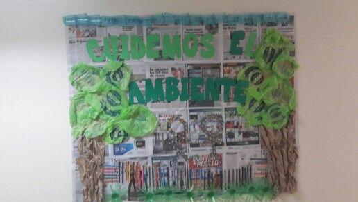 Cuidemos el ambiente //  Earth Day Bulletin Boards