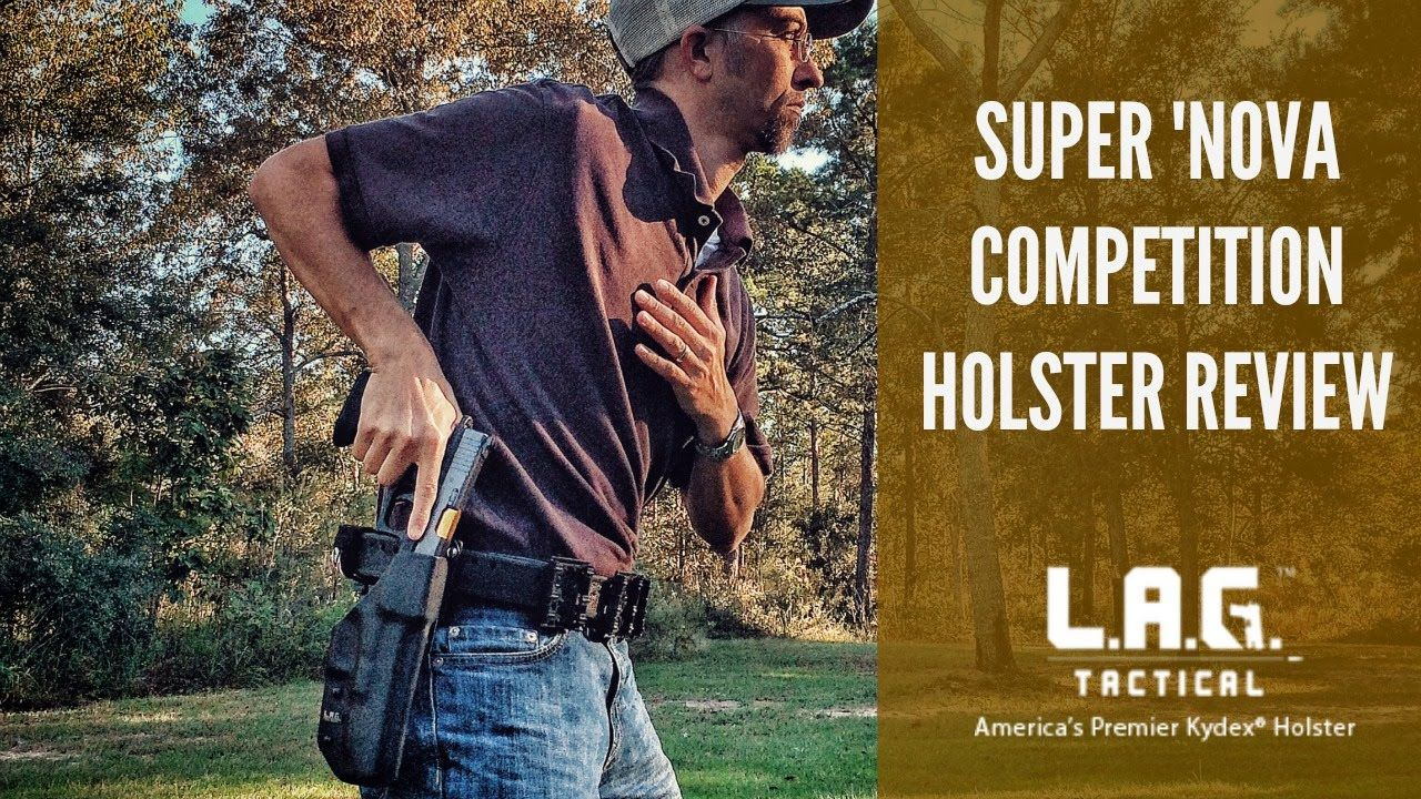 """Quick review of my new competition holster, the L.A.G. Tactical """"Super 'Nova"""" holster. Really fantastic Kydex holster, and one of my favorite additions to my..."""