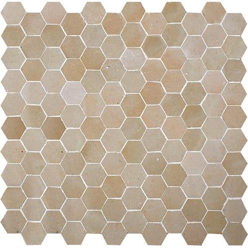 Multi Glossy Hex Zellige Ceramic Mosaics 11 13 16x12 1 8 Country Floors Of America Llc In 2020 Glazed Ceramic Tile Ceramics Mosaic
