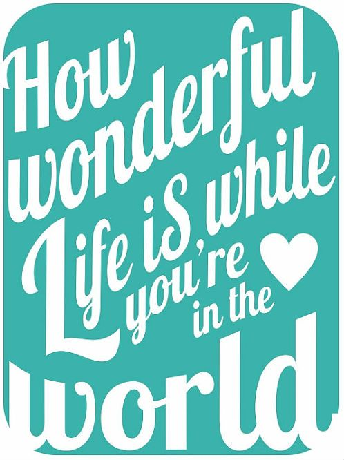 How Wonderful Life Is While You Re In The World Elton John