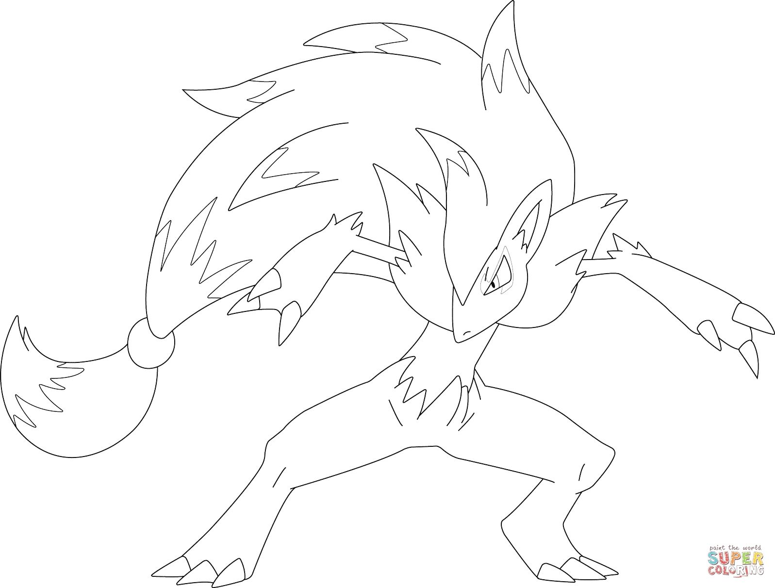 Pokemon Coloring Pages Zoroark Coloring Pages Allow Kids To Accompany Their Favorite Characters On An Pokemon Coloring Pokemon Coloring Pages Coloring Pages