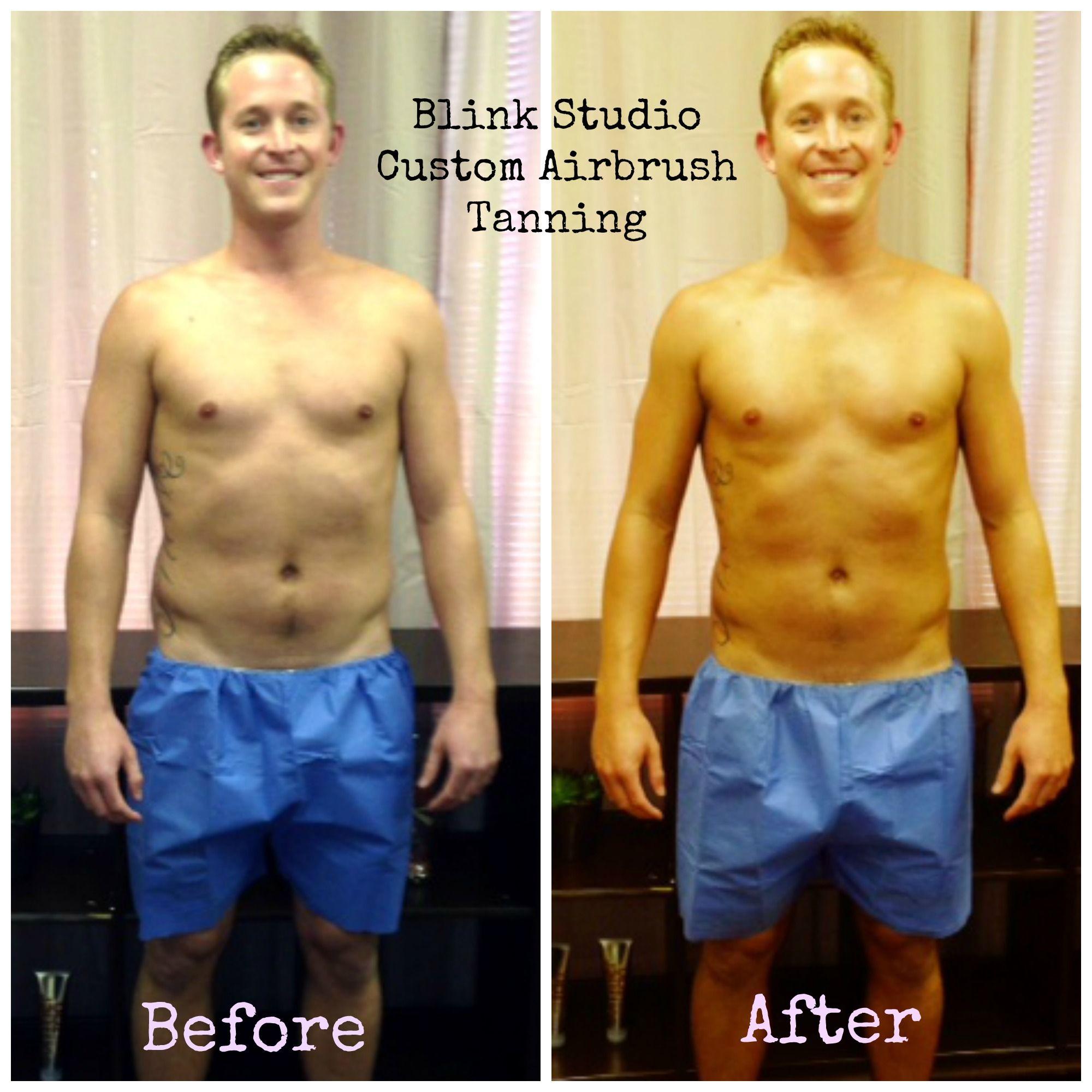 Yes, Men spray tan too! Custom Airbrush Tan Pinterest