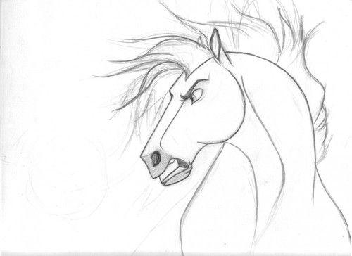 Spirit Stallion of the Cimarron - Concept Art (not ...  Spirit Stallion...