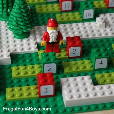 Count down to christmas with a diy lego advent calendar lego count down to christmas with a diy lego advent calendar voltagebd Choice Image