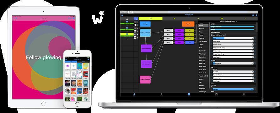 Wotja Generative Music System Creator Composer Mixer