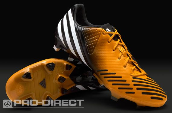 finest selection 2afb2 ac39d adidas Football Boots - adidas Predator LZ TRX FG - Firm Ground - Soccer  Cleats - Bright Gold-White-Black