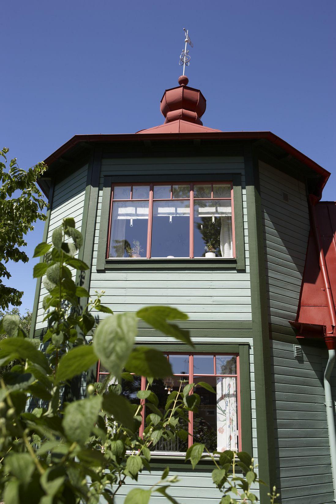 Måla ditt hus, inspiration för utomhusfärg. Fasadfärg, Nordsjö ...