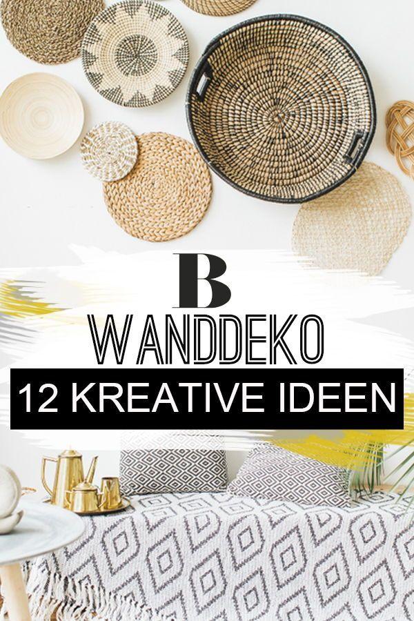Schluss mit kahlen Wänden! 12 kreative Wanddeko Ideen