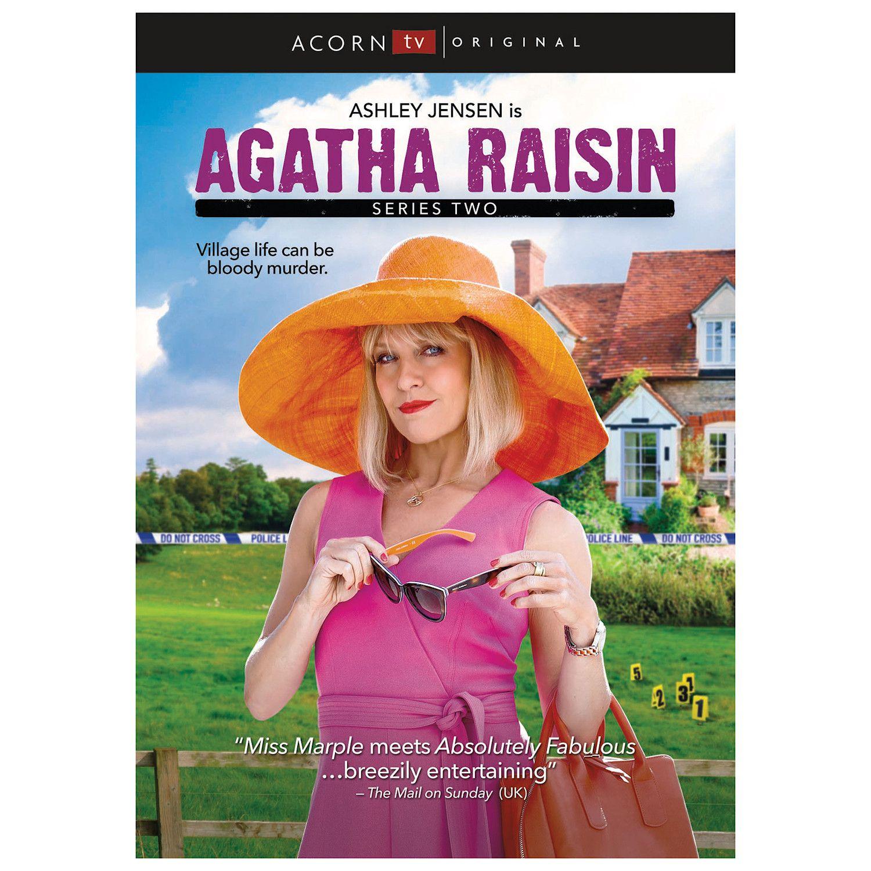 Agatha Raisin Series 2 Dvd Set In 2020 Agatha Raisin Agatha