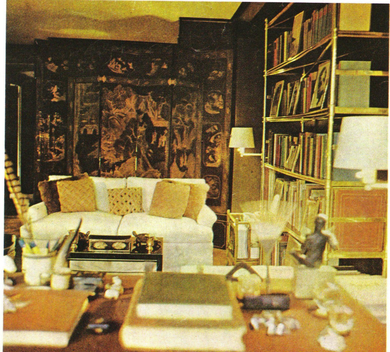 Manhattan New York Studio Apartments: Billy Baldwin's Studio Apartment On East 61st Street In