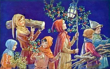 father christmas pagan - Google Search | Christmas Long Ago ...