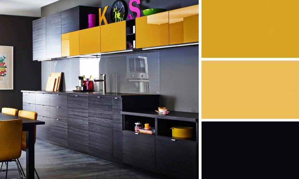 Les Meilleures Idées De La Catégorie Cuisine Hygena Sur - Meuble cuisine jaune ikea pour idees de deco de cuisine