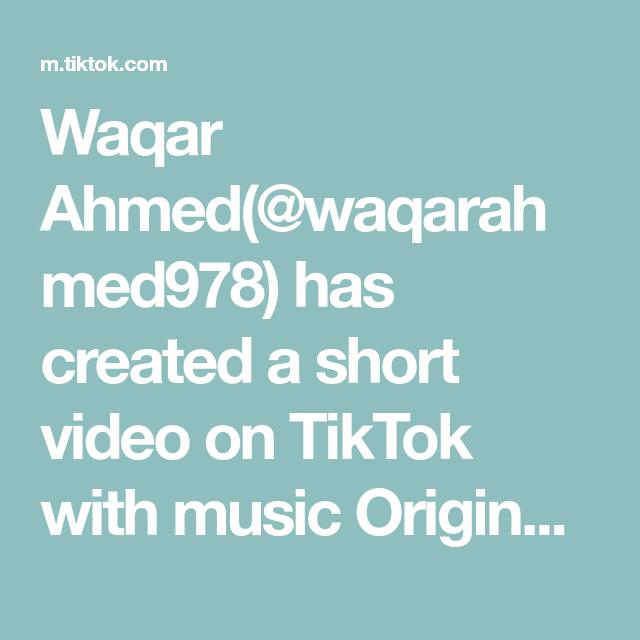 Waqar Ahmed Waqarahmed978 Has Created A Short Video On Tiktok With Music Originalton Tiktokid Cycle Cycling Sports Catego Music Good Times Create Yourself