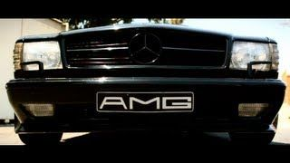 Mercedes 560 SEC AMG Something Out of This World - YouTube