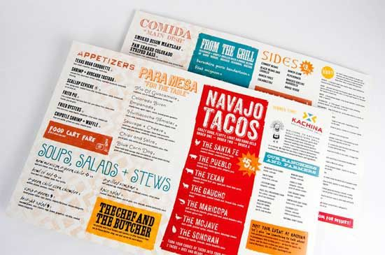 33 creative table menu designs for restaurants best design options