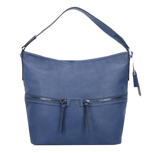 ESPRIT Schultertasche 'Ivy ' blau #damentasche #bags