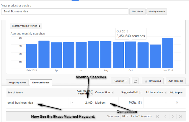 How To Use Google Keyword Research Planner Tool