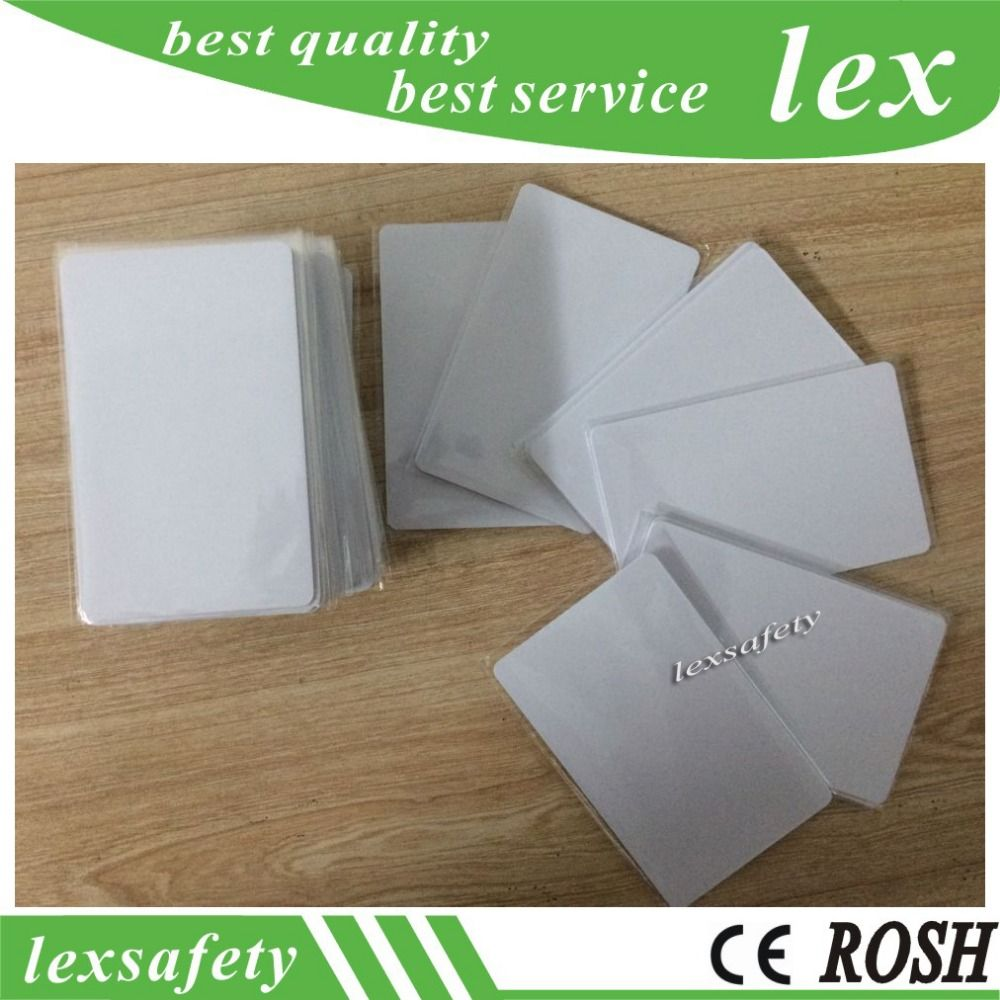 Business Cards Calendars, Planners & Cards Low Frequency Plastic Blank 125khz Tk4100 Blank Chip Card