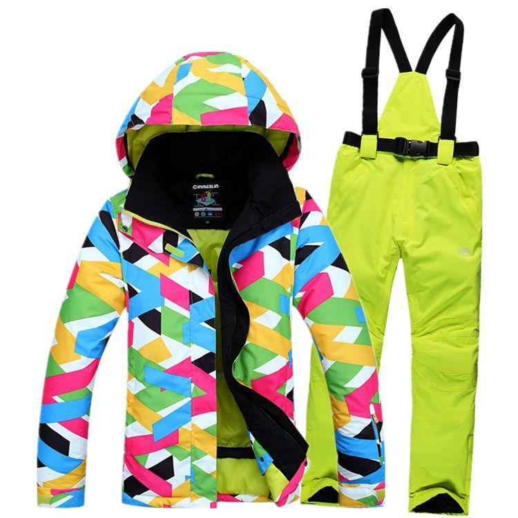 15 16 newest ski suits women s jacket pantssnowboard clothessnowboarding skiing  jackets Sports Waterproof Windproof Breathable    AliExpress Affiliate s ... f3e4e1228