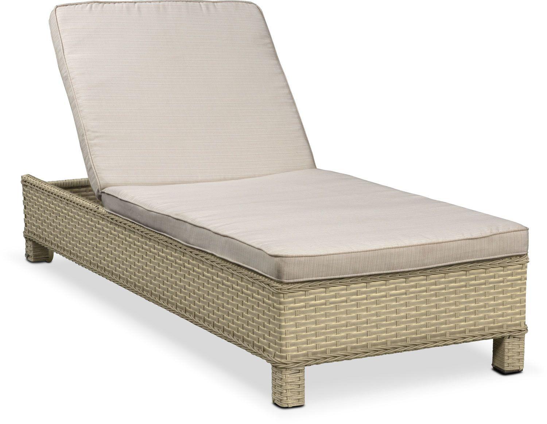 Outdoor furniture regatta outdoor chaise lounge cream