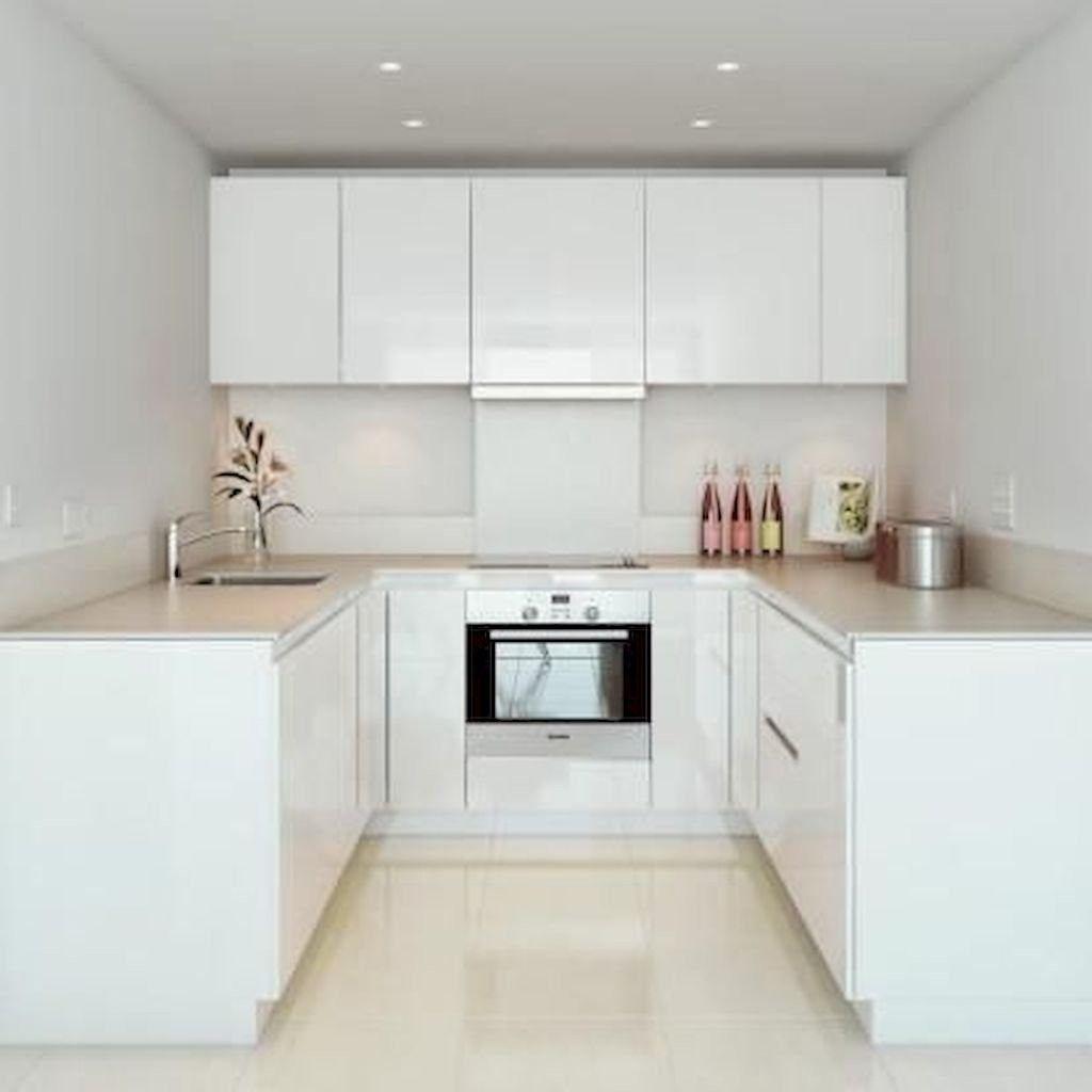 90+ Elegant White Kitchen Cabinet Design Ideas