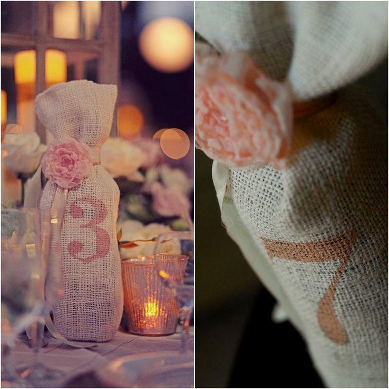 lin, toile de jute, dentelle | Idée Mariage | Pinterest ...