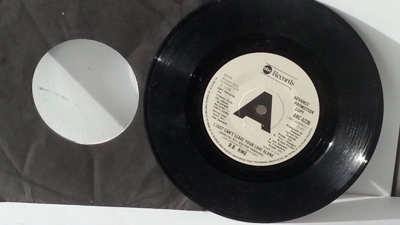 B B King I Just Can T Leave Your Love Alone 7 Inch Single Abc 4226 Singles All Genres Including Picture Discs Die Vinyl Record Shop Abc Record Collectors