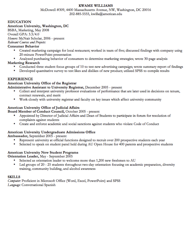 Administrative Assistant Cv Samples