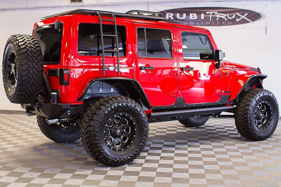 2016 Jeep Wrangler Rubicon Unlimited Firecracker Red 2016 Jeep